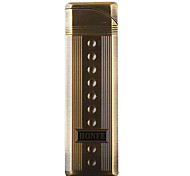 Metal Wind-proof Butane Lighter (Thin and Tall)