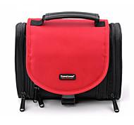 bolsa plegable de almacenamiento multifunción (color rojo)