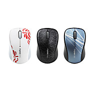 Rapoo 3100P USB Wireless Optical Mouse (Assorted Colors)