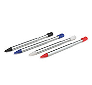 Metal Retractable Stylus Pen for Nintendo DS Lite (4-Pack)