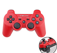 Controller wireless GOiGAME Due-Toni DualShock 3 per PS3 (Rosso e Nero)