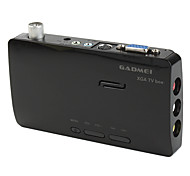Gadmei XGA TV Box with FM Radio and Remote Control (Black)