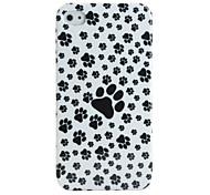 patrón de la pata de policarbonato para el iPhone 4 / 4 s