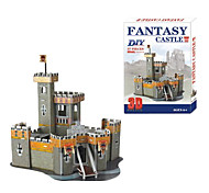 Small Castle 3D DIY Puzzle
