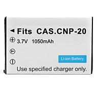 Digital Camera Battery for Casio EX-S1 (3.7V, 1050mAh)
