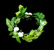 Copricapo Donne/Bambina Fiori Matrimonio/Occasioni speciali Satin/Carta Matrimonio/Occasioni speciali