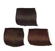 agganciare in capelli sintetici Bang 3 colori disponibili