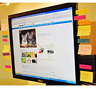 Message Board für Computer Screen (Transparent)