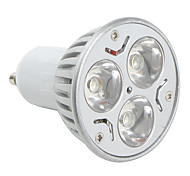 Spot Lampen MR16 GU10 3 W 270 LM K 3 High Power LED Natürliches Weiß AC 85-265 V