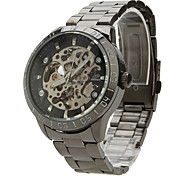 Reloj Pulsera Mecánico Análogo de Hombre 9383 - Negro