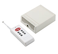 Wireless 8-Channel Remote Control Receiver and Transmitter (White)