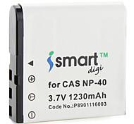 iSmart baterías de cámaras digitales de Casio EX-la serie Z, Exilim EX-Z Series, EXILIM Pro EX-P Series
