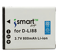 Ismart Digital Camera Battery for Pentax Optio P70, Optio P80, Optio WS80