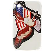 nosotros la bandera y el vuelo del águila patrón de caso protector para BlackBerry 8520 y 8530