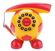 futebol telefone em forma (amarelo)