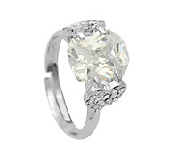 lureme®crystal двойной любви кольцо