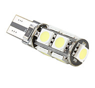 T10 9 SMD LED White Light Bulb