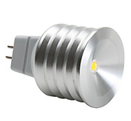 GU5.3 1 W 1 High Power LED 90 LM Warm White MR16 Spot Lights DC 12 V