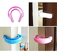 Plastic Baby Finger Protective Door Stop (Random Colors 1PCS