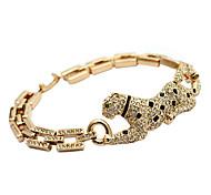Lureme®Austrian Diamond Inlaid Panther Bracelet