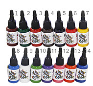 High Quality 14 Color Tattoo Ink Set 14*15ml