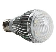Kugelbirnen A E26/E27 5 W 450 LM 6000K K 5 High Power LED Natürliches Weiß AC 220-240 V