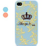 Polycarbonate Protective Bumper and Back Cover for iPhone 4 and 4S (Assorted colors)