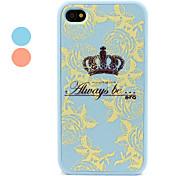 polycarbonate pare-chocs de protection et de couverture pour iPhone 4 et 4s (couleurs assorties)