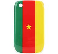 Bandera del Camerún patrón de estuche protector para blackberry 8520 y 8530