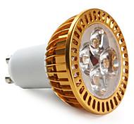 GU10 Lâmpadas de Foco de LED MR16 4 LED de Alta Potência 360 lm Branco Quente AC 85-265 V