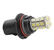 9004 5050 SMD 27-LED 1.44W 260MA White Light Bulb for Car (DC 12V)