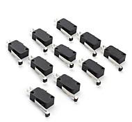 12030-1 Mikroschalter für Elektronik DIY (10 Stück pro Packung)