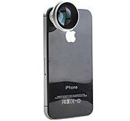 Detachable 4x Telephoto Magnet Lens for iPhone, iPad & Other Cellphone