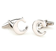 26 Letters C Style Cufflinks