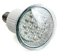 1W E14 LED Spot Lampen MR16 20 High Power LED 100 lm Natürliches Weiß AC 220-240 V