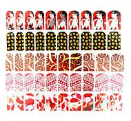 Environmental and Shining  Nail Stickers