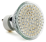 GU10 3.5W 80-LED 400LM 2800-3500K Warm White LED Spot Bulb (220-240V)