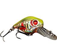 Harte Bait Crank 1 Meter schwimmenden Kunststoff Fischköder 45MM 7G (1pc/color sortiert)