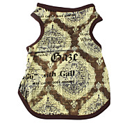 Vintage Style Vest for Dogs (XS-XL, Green)