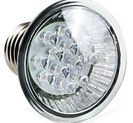 Spot Blanc Naturel PAR E26/E27 W 12 LED Haute Puissance 60 LM 6000K K AC 100-240 V