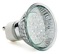 GU10 Focos LED MR16 15 LED de Alta Potencia 40 lm Blanco Natural AC 100-240 V