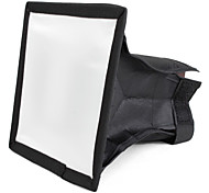 mini softbox per flash portatile 15 x 17 cm