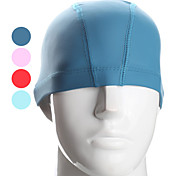 MODOCO Swim Cap with PU Painting for Kids (Assorted Colors)