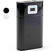7200mAh batterie externe avec la lumière dirigée pour téléphone mobile, ipad, PDA, PSP, MP3
