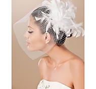 bella e tulle da sposa fascinator piuma / copricapo