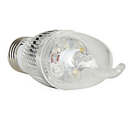 E26/E27 4 W 4 360 LM Natural White CA Candle Bulbs V