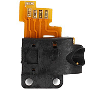 NEW Black Audio Head Phone Jack Flex Cable for iPod Touch 2nd Gen