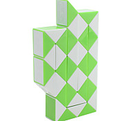 36-Sections DIY Snake Shaped Magic Cube (Green)