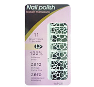 Insect Pattern 14 Tips Nail Art Stickers