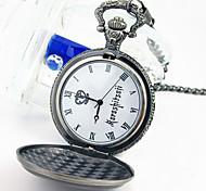 reloj de bolsillo de plata cosplay plata ciel